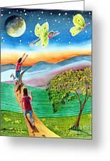 My Spiritual Metamorphosis Greeting Card
