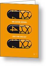 My Superhero Pills - The Thing Greeting Card