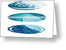 My Surfspots Poster-6-todos-santos-baja Greeting Card
