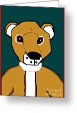 My Teddy Greeting Card
