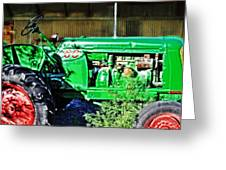 My Tractor Greeting Card