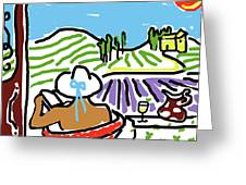 My Tuscany Dream 2 Greeting Card