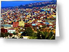 My Valparaiso Greeting Card