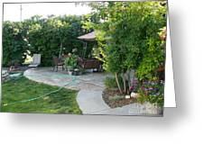 My Yard Love Greeting Card by Jeff Pickett