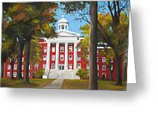 Myers Hall Greeting Card
