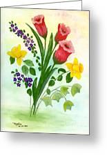 Myriad Colors Greeting Card