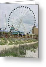 Myrtle Beach Skywheel 10 Greeting Card