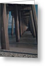 Myst Under The Pier Greeting Card