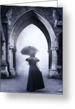 Mysterious Archway Greeting Card by Joana Kruse