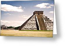 Mysterious Chichen Itza Greeting Card