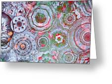 Mysterious Circles 3 Greeting Card