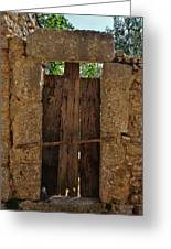 Mysterious Door Greeting Card