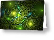 Mysterious Lights Greeting Card