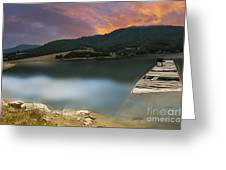 Mystery Boat  Greeting Card