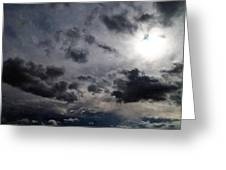 Mystery Of The Sky Greeting Card by Glenn McCarthy Art and Photography