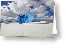 Mystic Blue 11 Greeting Card