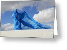 Mystic Blue 9 Greeting Card