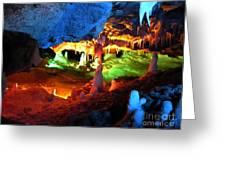 Mystic Caverns Greeting Card