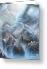 Mystic Chasm Greeting Card