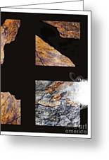 Mystic Fractures L Greeting Card