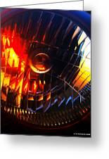 Mystic Headlight Greeting Card