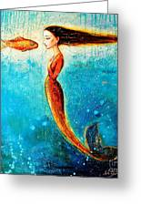 Mystic Mermaid II Greeting Card
