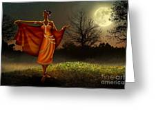 Mystic Moonlight V2 Greeting Card