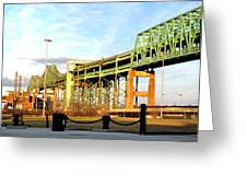 Mystic River Bridge  Greeting Card