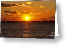 Mystic Sunset Greeting Card