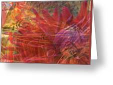Mystical Dahlia Greeting Card