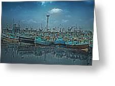 Mystical Harbor Greeting Card