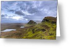 Mystical Landscape On Skye Greeting Card