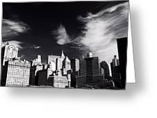 Mystical Manhattan Morning Greeting Card