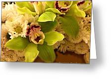 Mystical Orchid  Greeting Card