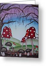 Mysticle Forest Greeting Card