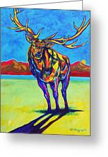 Mythical Elk Greeting Card