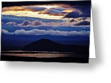 Myvatn Sunset Greeting Card
