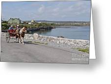 Na Hiostain Inis Mor Greeting Card
