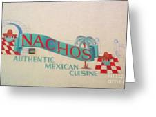 Nachos Greeting Card