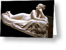 Canova's Naiad Greeting Card