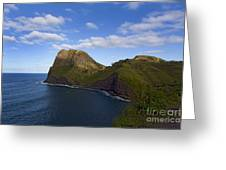 Nakalele Point-signed-#8497 Greeting Card