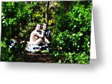 Naked Lunch Greeting Card