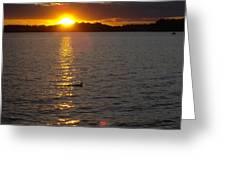 Namakagon Sunset Greeting Card