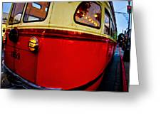 San Francisco Streetcar Greeting Card