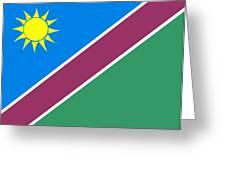Namibia Flag Greeting Card