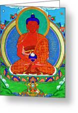 Namo Amitabha Buddha 16 Greeting Card