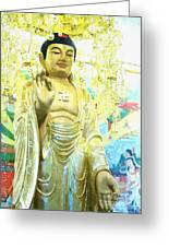 Namo Amitabha Buddha T 37 Greeting Card