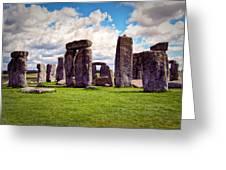 Nancy's Stonehenge Greeting Card