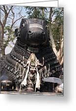 Nandi Statue Greeting Card