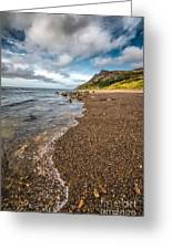 Nant Gwrtheyrn Shore Greeting Card